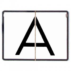 Reflexní sklopná tabule A