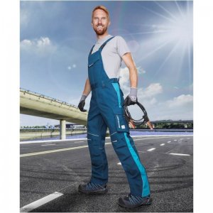 Nohavice s náprsenkou ARDON®URBAN modré - 170-175 cm