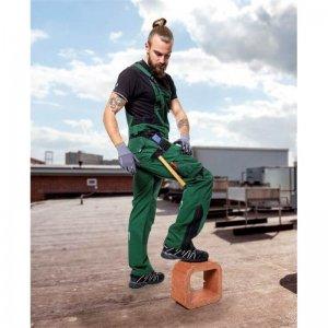 Kalhoty lacl VISION zelené, prodloužené