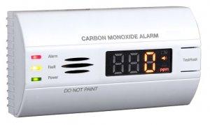 Hütermann CO-90 detektor CO s alarmem, pamětí a LCD displejem