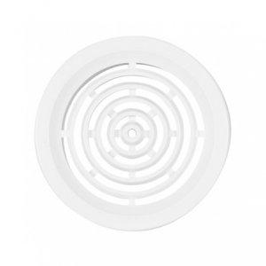 Haco VM 50 B větrací mřížka kruhová - bílá (4 ks v balení)