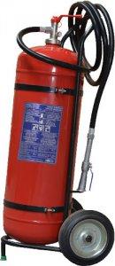 P50-E-40 pojízdný hasicí přístroj práškový 50 kg (IIB)