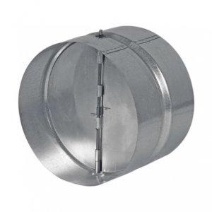 Haco ZKK 100 zpětná klapka - pozinkovaný ocelový plech