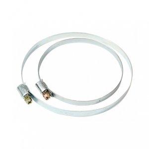 Haco HS W1 100 hadicová spona - pozinkovaný ocelový plech (2 ks v balení)