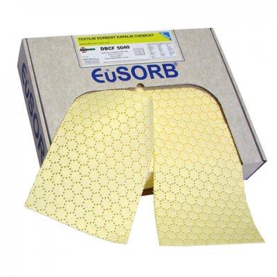 EuSORB DBCF 5040 - Chemické rohože silné, zpevněné a perforované