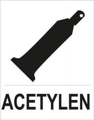 Bezpečnostní tabulka - Acetylen