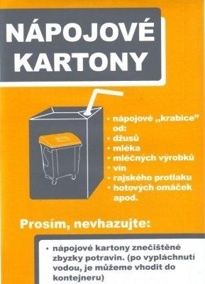 nápojové kartóny