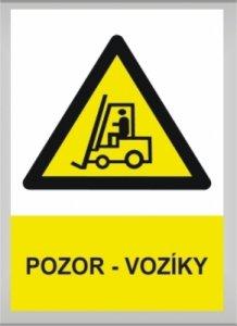 Pozor - vozíky