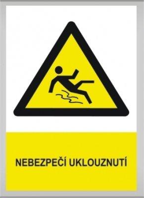 Nebezpečí uklouznutí