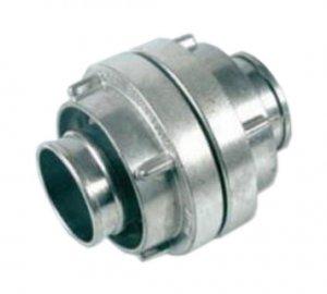 Aluminium Kupplung mit Kurz-Gewinde
