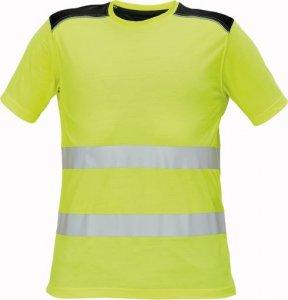 Červa KNOXFIELD HI-VIS pánské pracovní tričko výstražné