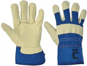 Červa JAY pracovné a ochranné rukavice - bravčová koža - balenie 12 párov