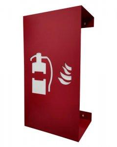 Huracan dizajnový nástenný kryt pre hasiaci prístroj